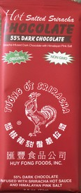 Sriracha Organic 55% Dark Chocolate Bar