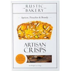 Apricot, Pistachio and Brandy Crisps